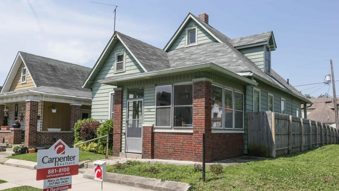 With fewer listings, Indianapolis-area houses are selling quicker, and at higher prices, than they were a year ago.