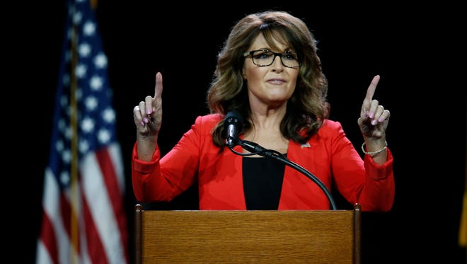 Former Republican vice presidential candidate Sarah Palin isn't expected to be at the Republican National Convention this week in Cleveland, Ohio. But what might she say if she were there?