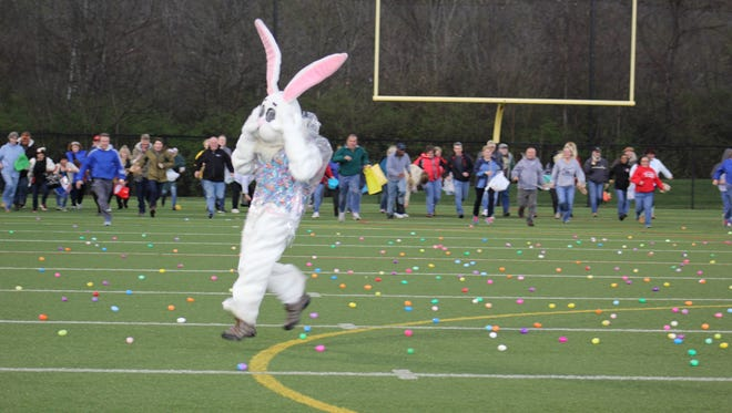 The Anderson Park District hosts its 14th annual Adult Egg Hunt Thursday, April 13. Register online by noon Thursday.