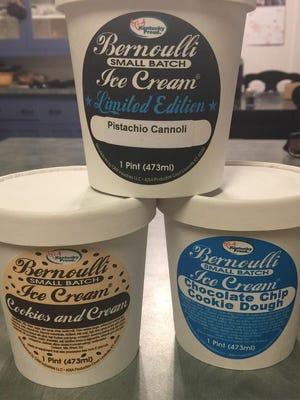 Bernoulli small batch ice cream