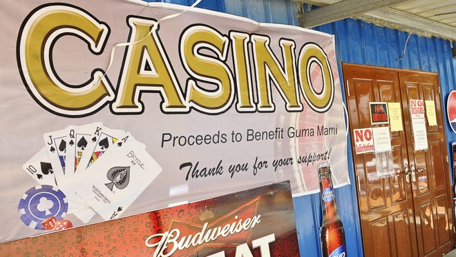 The exterior of the casino being operated at the Guam Liberation Carnival in Tiyan photographed in June 2013.  Rick Cruz/Pacific Daily News/rmcruz@guampdn.com
