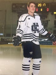Davis Schiller also played three years of hockey for