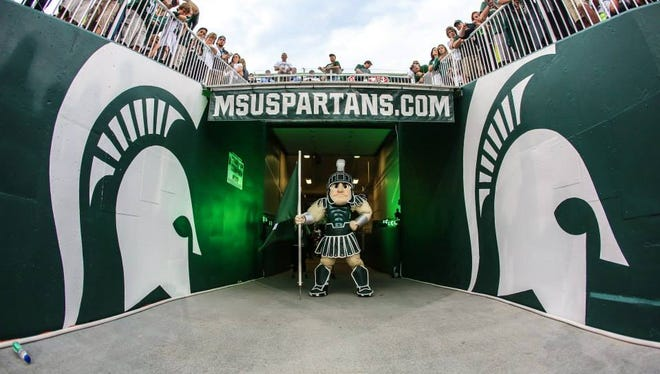 "Michigan State University Mascot ""Sparty"""