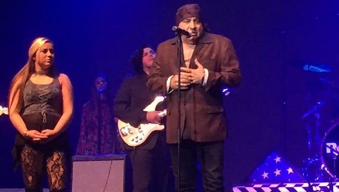 Steve Van Zandt on stage at the Count Basie Theatre in Red Bank on Saturday, Aug. 27.