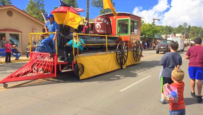 The Shriners always add color to the Aspenfest parade.