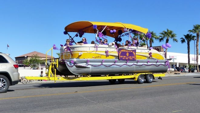 Floats of all kinds took to the streets of Lake Havasu City during the 2015 London Bridge Days Parade.