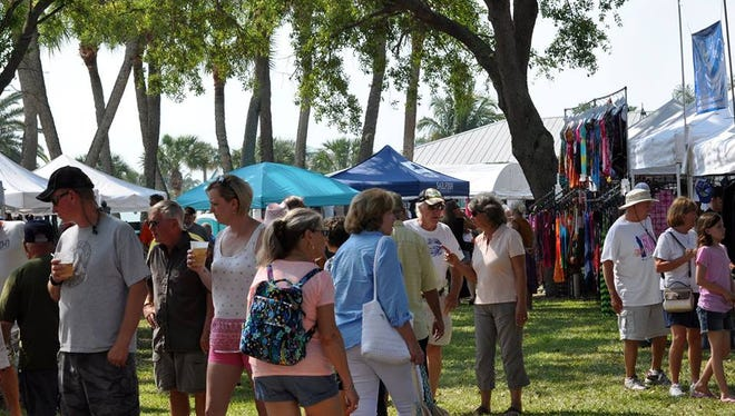 There is plenty to buy, taste and do at the Taste of the Sea & Sandy Shoes Seafood Festival in Fort Pierce.