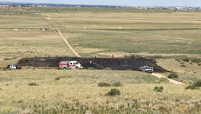 A man was arrested after police say he started a fire at Coyote Ridge Natural Area. The fire was put out quickly and burned less than one acre.