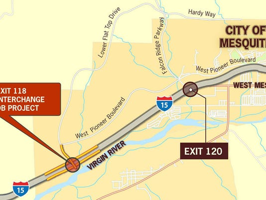 Exit 118 map
