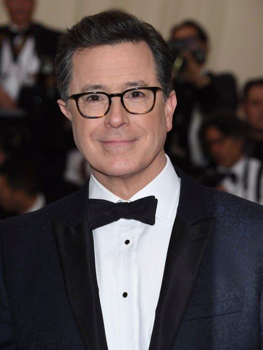 AP TV STEPHEN COLBERT A ENT FILE USA NY