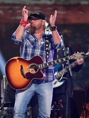 Toby Keith performs at the Merle Haggard Tribute concert