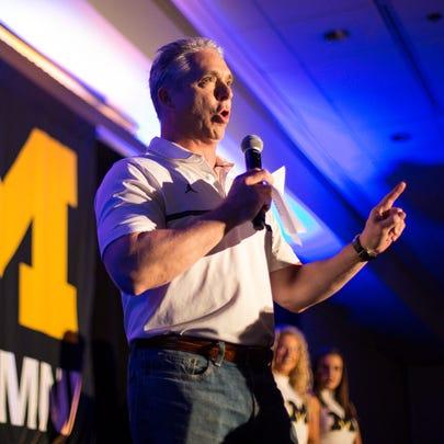 Michigan basketball radio broadcaster Matt Shepard