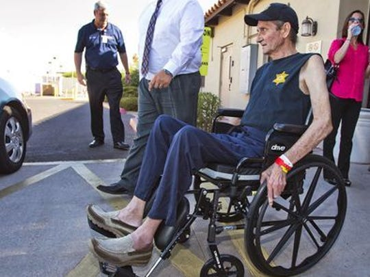 Phillip Grigg was released from the hospital in July