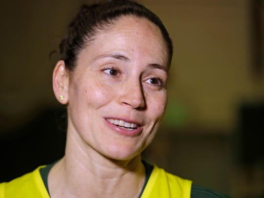 Sue Bird remains the Storm's point guard, but she may