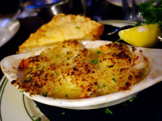 Don & Charlie's Chicago-style  Shrimp de Jonghe is
