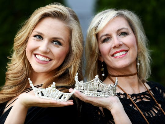 Miss Germantown 2018 Cassidy Sheppard, left, will be