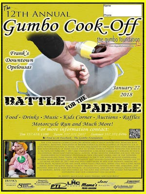 12th Annual Gumbo Cook-Off poster