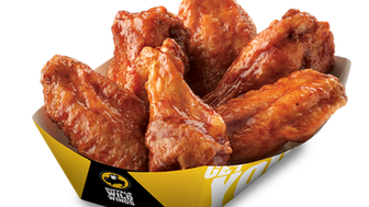 Buffalo Wild Wings switched its buy one get one Tuesday promotion from bone-in to boneless wings during the quarter.