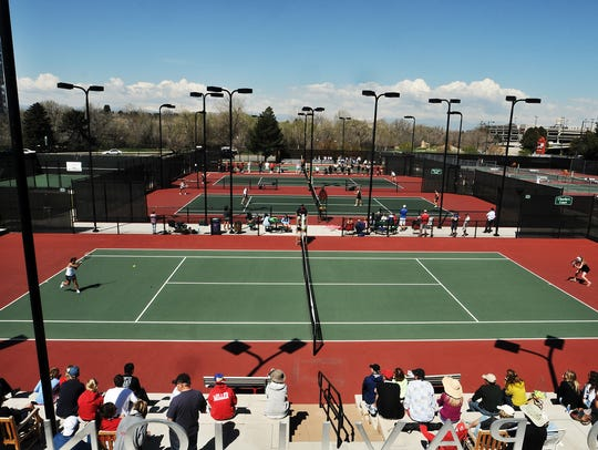 The Class 5A state tennis tournament is played at Gates