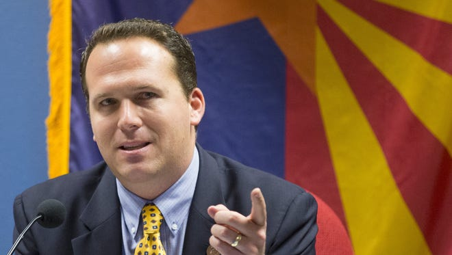 State Rep. Justin Olson, R-Mesa, chair of the House Appropriations Committee, is running for Congress in the 5th District.