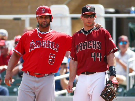Los Angeles Angles Albert Pujols reaches out to Arizona