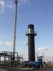 2005: The thermal oxidizer at American Synthetic Rubber