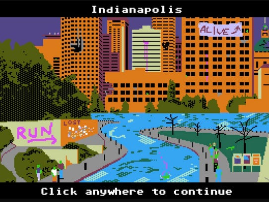 This scene is from the 8-bit retro zombie survival