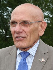 Ron Belmont, the mayor of the Town of Harrison, photographed