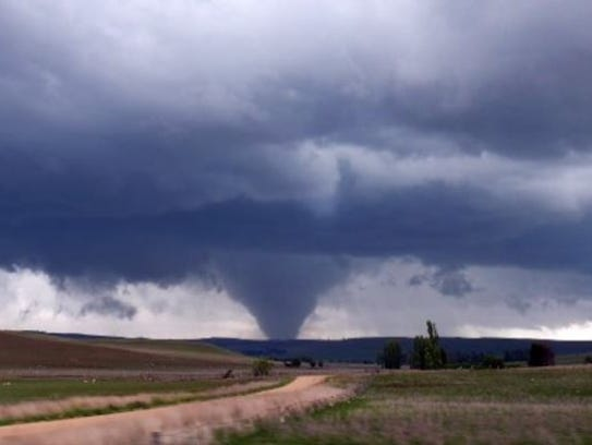 A tornado touched down in Butte County in late May,