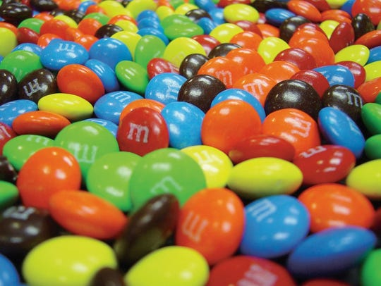 M&M's, one of Mars Wrigley's signature candies.