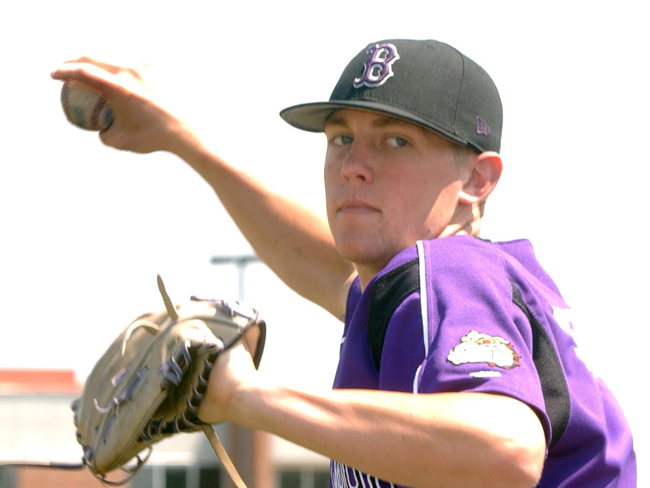 Brownsburg High School baseball pitcher Drew Storen (cq/gm) is the All-West Baseball Player of the Year. Photo taken 6/12/07. (Gary Moore/The INdianapolis Star)
