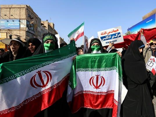 EPA IRAN PRO GOVERNMENT DEMONSTRATION POL CITIZENS INITIATIVE & RECALL IRA