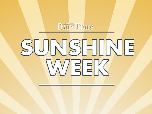 FMN Stock Image Sunshine Week