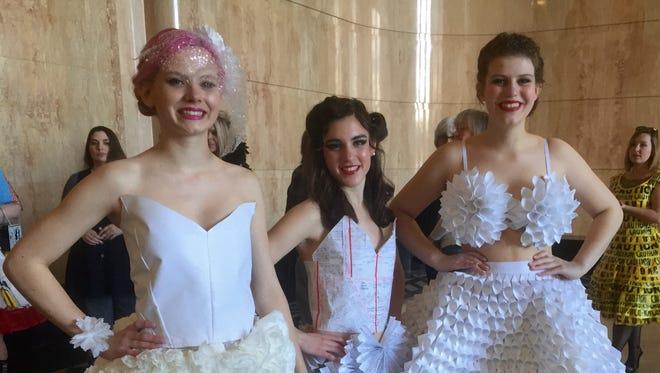 Dorotchea Joachimi, from left; Ines Sanchez; and Hailey Kavanagh