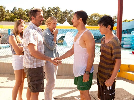"From left, Zoe Levin, Steve Carell, Toni Collette, Sam Rockwell and Liam James star in the 2013 film ""The Way, Way Back."""