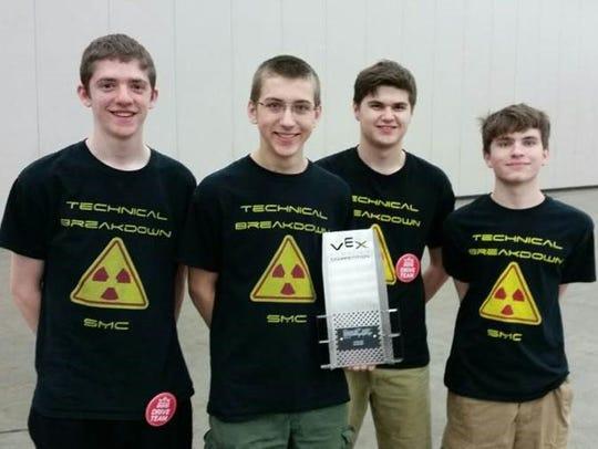 Team 1200C — Technical Breakdown were winners of the