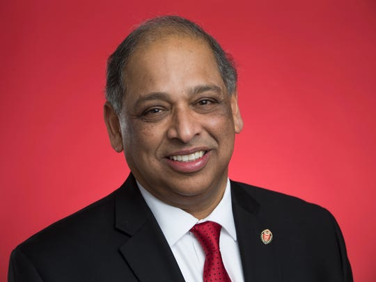 Neville Pinto, 30th  president of the University of