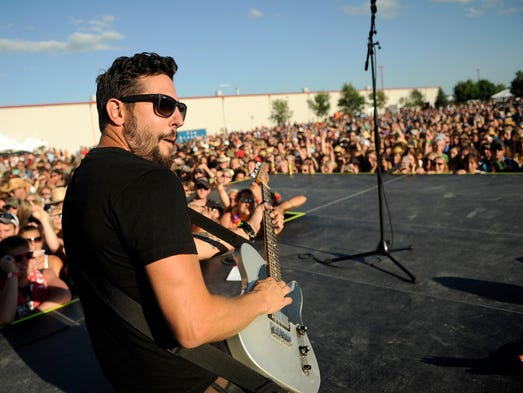 Matthew Ramsey of Old Dominion playing at the 2014 Firefest that took place in Cold Spring on Saturday July 27th.