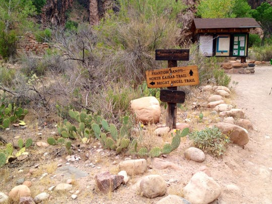 The Bright Angel Trail is the park's most popular trail.