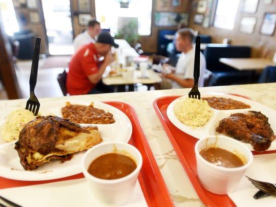 Cobb's BBQ in Bossier City.
