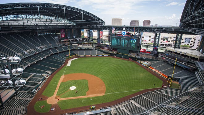 The Cactus Bowl on Dec. 26, 2017, at Chase Field could snarl downtown Phoenix traffic.