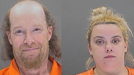 William Herring, 42 and Brianna Brochhausen, 22, are accused of smothering their 4-month-old son in February.