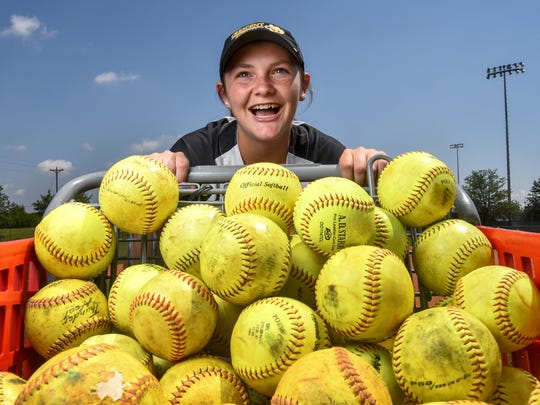 Kayla Pepper, the 2017 Independent Mail softball player of the year, takes her winning skills from Crescent High School to South Atlantic Conference contender Anderson University.