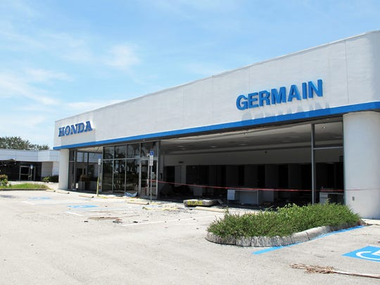 The former Germain Honda buildings on Davis Boulevard in East Naples will be demolished to make way for a future BMW dealership.