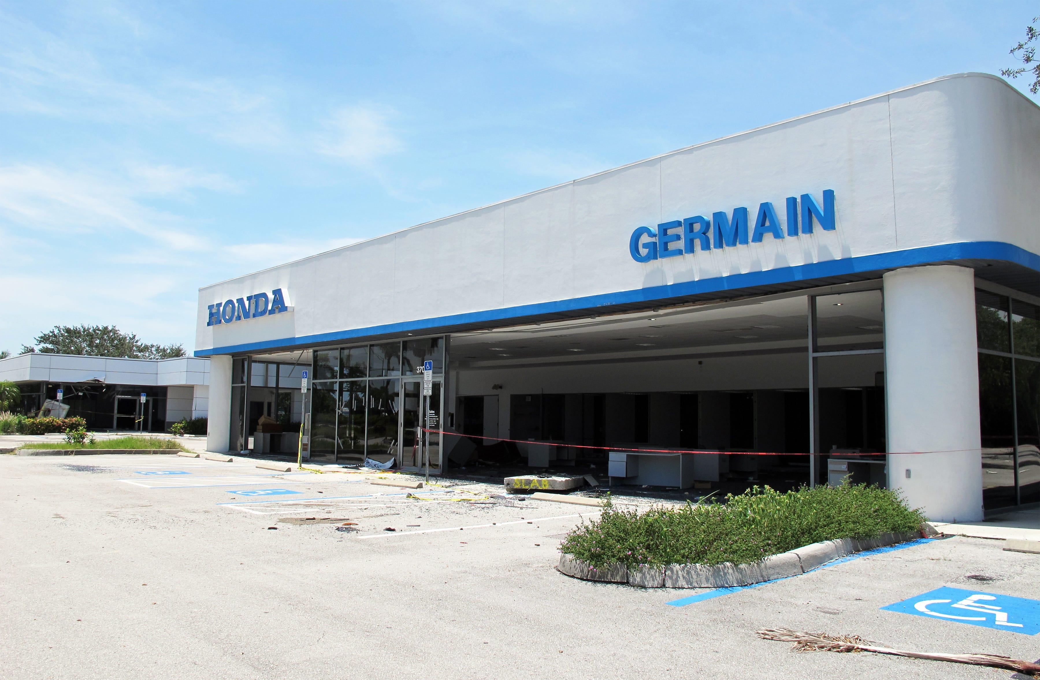 The Former Germain Honda Buildings On Davis Boulevard
