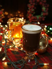 A Hot Toddy and and Irish coffee at the Olde Village Inne in Nyack.