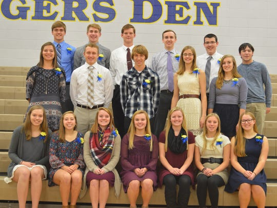 The Howards Grove National Honor Society chapter recently