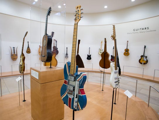 A variety of instruments from all over the world at