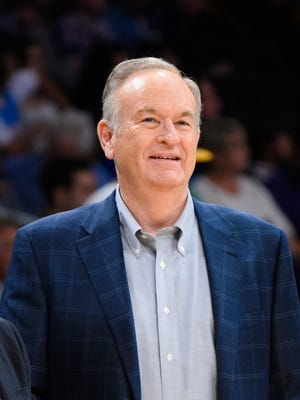 Bill O'Reilly attends a basketball game between the Denver Nuggets and the Los Angeles Lakers at Staples Center on Feb. 10, 2015, in Los Angeles.
