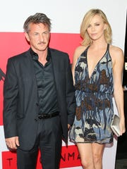 Charlize Theron accompanied beau Sean Penn to the L.A.